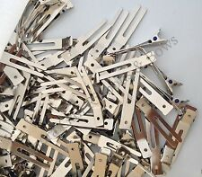 80  Double Prong Alligator Curl Clips -   for korker hairbow hair bows