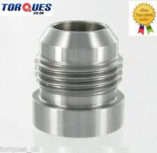 AN -12 (12AN JIC AN12) Male Mild Steel Weld On Fitting / Bung