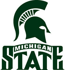 Michigan State Spartans NCAA Color Die-Cut Decal / Car Sticker *Free Shipping
