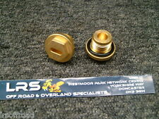 Land Rover Defender & Discovery TDi Radiator & Thermostat Brass Plugs ERR4686 x2