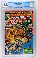 Super-Villain Team-Up #5 - Marvel 1976 CGC 8.5 1st App Shroud - 30 Cent Variant!