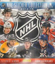 PANINI FACTORY SEALED SET NHL 2014 2015 LOOSE STICKERS + ALBUM