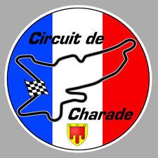 Circuit de CHARADE Sticker vinyle laminé