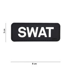 3D PVC MORALE Patch 3D PVC  softair airsoft  UNIT SWAT POLICIA