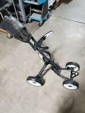 CaddyTek 4 wheel push golf cart Cyber Monday no cup holder/ umbrella holder