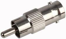 Rca Hembra A Rca Phono Macho Carpintero Convertidor Para Cctv Video Cable Rg59 Adaptador