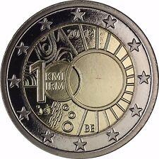 Belgien 2 Euro Münze Meteorologisches Institut 2013 Polierte Platte im Etui