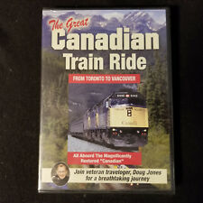 The Great Canadian Train Ride: From Toronto to Vancouver - Brand New