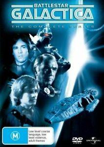 Battlestar Galactica Complete Series (DVD, 2010, 6-Disc Set), NEW SEALED R4