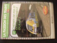 DVD The passion of trains no.27 Chemin iron and development sturdy