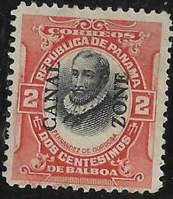 3v0484 Scott CZ53 Canal Zone US Possession Stamp 1918 2c de Cordoba Used