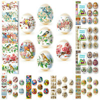 7 Easter Egg Decoration Sticker Heat Shrink Sleeve Wrap 52 different designs