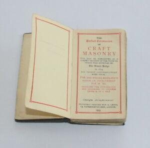 Masonic Perfect Ceremonies of Craft Masonry 1935 edition  (STFH)