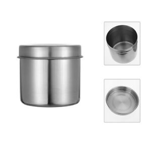 2pcs Multi-functional Useful Portable Cylinder Can Storage Container for Home