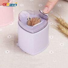 1Pc Automatic Toothpick Holder Cute Heart Shape Toothpick Dispenser Box