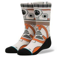 New Men's Stance Star Wars Thumbs Up BB8 Elite Socks - US Size Large 9-12