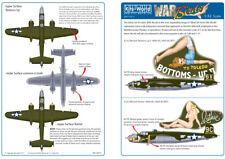 Kits-World 1/32 B-25J Mitchell Nose Art Sheet 3 # 32012