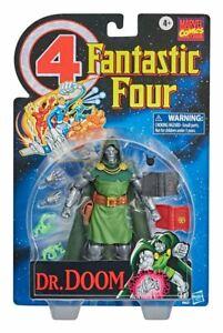 Marvel Legends Fantastic Four Retro Collection Dr. Doom Action Figure IN STOCK
