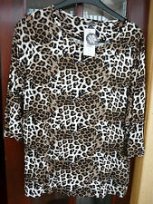 Marks and Spencer Women's Animal Print Stretch Tops & Shirts