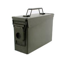 30 Cal Metal Ammo Can – Military Steel Box Shotgun Rifle Nerf Gun Ammo Storage