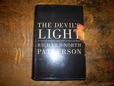 THE DEVIL'S LIGHT BY RICHARD NORTH PATTERSON, LARGE PRINT, HARD COVER.