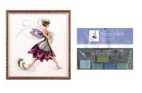 Nora Corbett Mirabilia Cross Stitch PATTERN &EMBELLISH Pk WATER LILY NC166