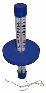 Termómetro ' Boya ' Vertical Skala / Termómetro de Piscina/Pool Termómetro