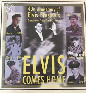 Elvis Presley Postage Stamp Arch Mint Unused Liberia Nr.C01