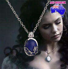 The Vampire Diaries Katherine's Necklace Anti sunlight Lapis Lazuli Vintage pend