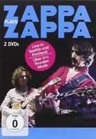 FRANK  ZAPPA  -  ZAPPA PLAYS ZAPPA   2 DVD NEW+