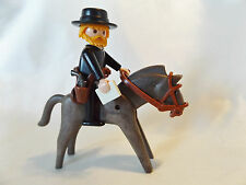 Playmobil Western Traveling Clergy Preacher w/Horse for School House Church Fort