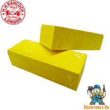 Hancocks Yellow Wax Universal Marking Blocks - 20 Box