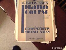 Michael Aaron & Robin MacLachlan: Piano Course , book 1 (Schroeder & Gunther)
