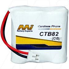 CTB82 3.6V NiMH Cordless Phone Battery