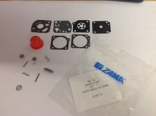GENUINE ZAMA RB-73 RB73 CARBURETTOR CARB REBUILD KIT