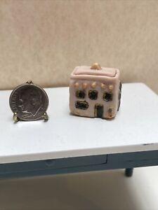 Artisan Anita McNary Vintage Southwestern Casa Cookie Jar Dollhouse Miniature