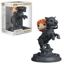 FUNKO POP! MOVIE MOMENT: Harry Potter - Ron Riding Chess Piece [New Toys] Viny