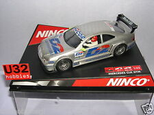 "NINCO 50229 SLOT CAR MERCEDES CLK #1  DTM  ""D2""  B.SCHNEIDER  MB"