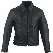 Leather Solid Regular Size XS Coats & Jackets for Women