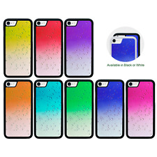 Estuche Paragolpes de gota de lluvia Apple iPhone 5 5s SE 6 6s 7 XS 11 Pro 8 PLUS X MAX XR
