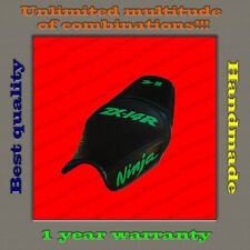CUSTOM Design Seat Cover KAWASAKI NINJA ZX-14R (ZZR1400) 12+ black+green 001
