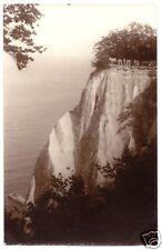 AK, Sassnitz Rügen, Blick zum Königsstuhl, Echtfoto 1933
