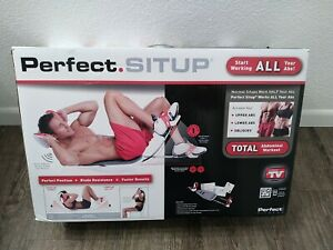 BNIB! Perfect SITUP by Perfect Fitness Crunch Abs Trainer Toner Home Fitness