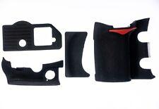 Rubber Body 4 Piece Set Cover Shell Grip Unit For Nikon D300 3M Tape & Glue