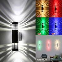 Modern Exterior Dual-Head LED Wall Light Sconce Wall Lamp Home Bar Porch Fixture