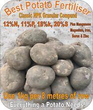 Best Potato Fertiliser 12-11-18+S General Vegetable Garden Flower (Not A Blend!)