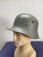 More details for original ww1 m16 german helmet (stamped q66)