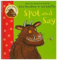Julia Donaldson Board Book - My First Gruffalo Book: SPOT AND SAY - NEW
