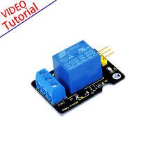 NEW! Single Channel Relay Module for Arduino UNO MEGA2560