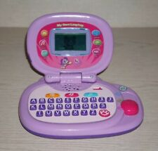 Leap Frog MY OWN LAPTOP Leaptop Learning Computer Purple Pink